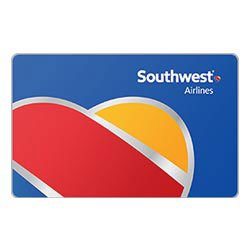 Southwest Airlines Gift Card Deals